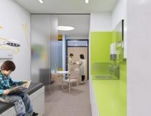 Untersuchungs- und Behandlungsraum