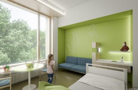 Ein-Bett-Zimmer
