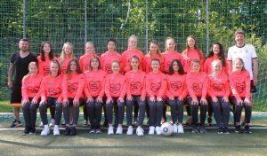 U15-Mädchenmannschaft SvO-Rieselfeld