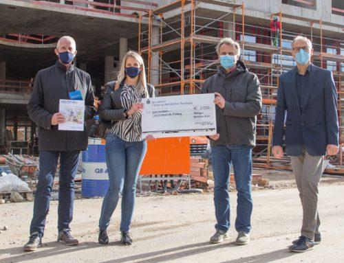 Spenden für echte Helden: Alois Dallmayr Automaten-Service GmbH & Co.KG aus Teningen spendet 3.000 EUR