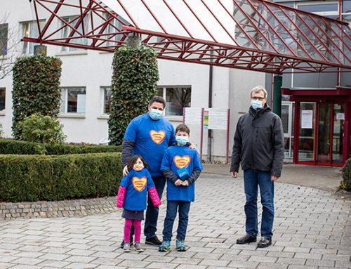 Familie Moog aus Ehrenkirchen spendet 3.000 EUR