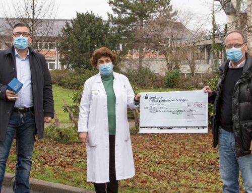 Spenden für echte Helden: Die Müller GmbH Elektro-Gebäude-Solar spendet 10.000 EUR