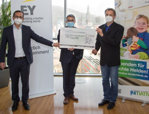 Spenden für echte Helden: EY Freiburg spendet 2.500 EUR