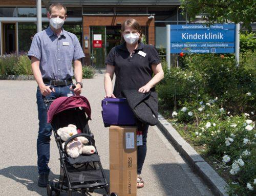 Bundesverband Kinderhospiz e.V. i. Lenzkirch spendet Buggys und Wickeltaschen