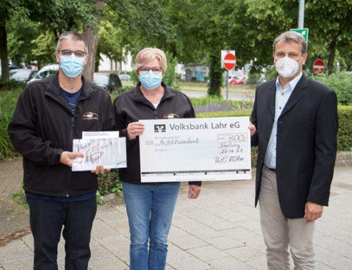 Spenden für echte Helden: Uli's Partyservice und Zeitverleih aus Herbolzheim spendet 800 EUR