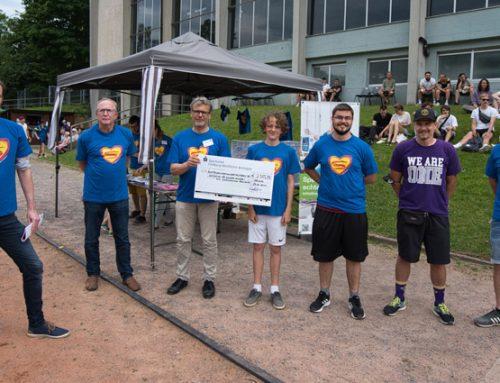 Spenden für echte Helden: Spendenlauf der FT1844 Sacristans erzielt 2.325,98 EUR